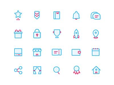 Sketch icons set - Free download