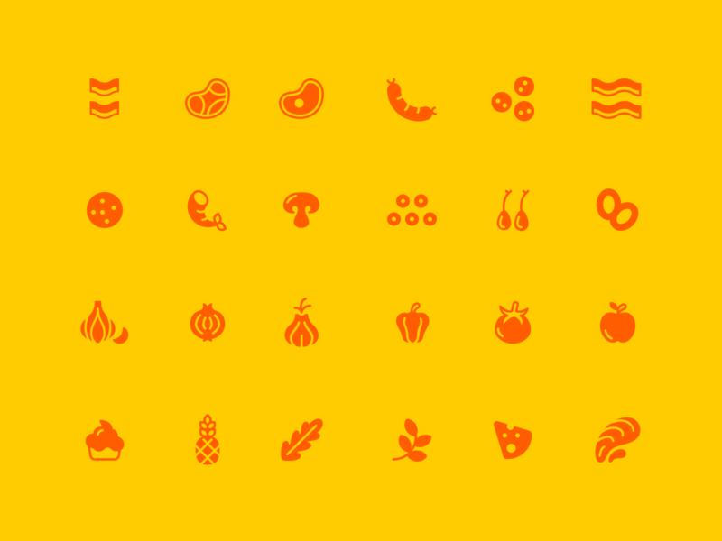 Food Ingredient Icons
