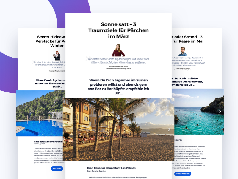 Inspirational Content magazine holidaycheck trip urlaub vacation travel holiday