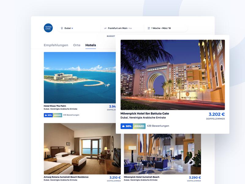 Hotel List hotel mobile holidaycheck trip urlaub vacation travel holiday