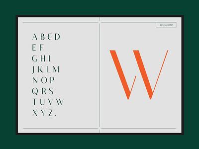 Agnes Typeface - Capital design typefaces font typography