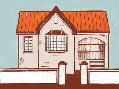 Home(s) house art design building home graphicdesign illustration