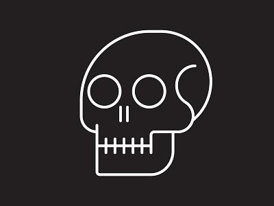 Simple Skull icon metal skulls skull vector vector illustration graphic design illustration