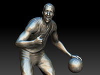 """Jinglin"" Joe Ingles Statue"