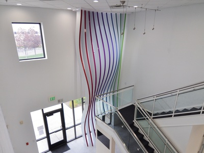 Sensapure Parametric Sculpture interior exhibit design 3d environments