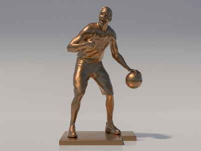 Joe Ingles Bronze Statue