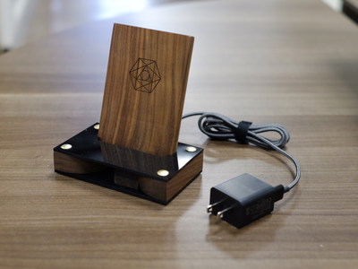 Wireless Charger/Passive Amplifier wireless charger product design