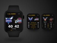 NBA on watchOS - Product Concept