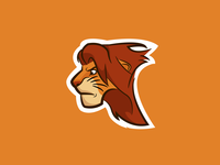 Lion king logo