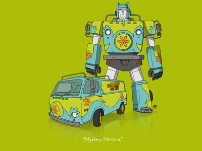 If They Could Transform - Mystery Machine