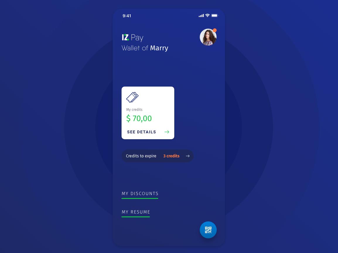 IZ Pay App ui  ux uidesign design app