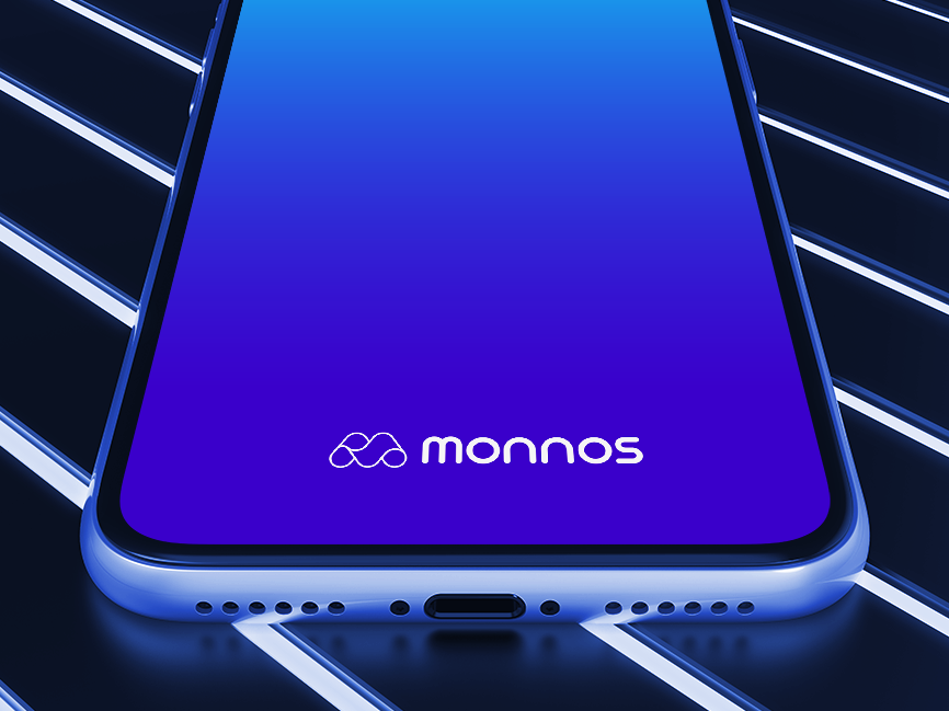 Monnos • Brand Shot cryptocurrency branding brand