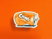 Crush Mode Sticker