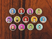 Design Team Avatar Magnets