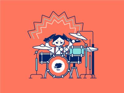 Atom from Hedgehog Band