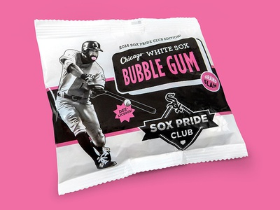 Chicago White Sox Bubble Gum
