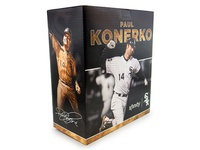 White Sox Paul Konerko Statue packaging