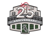 White Sox Ballpark 25th Anniversary logo