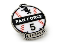 Chicago White Sox Fan Force Years Of Service Pin