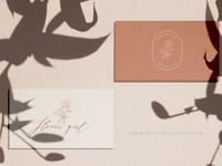 Flower Girl - business card