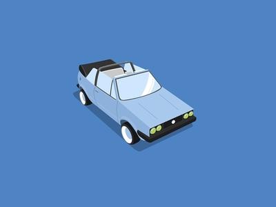 Cabriolet         window shade wheels lights blue automobile car cabriolet