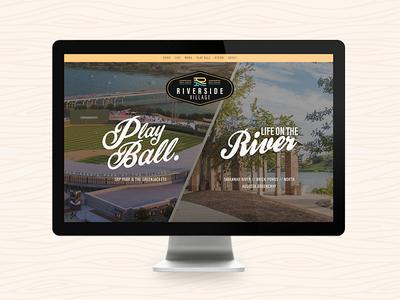 Riverside Village Website