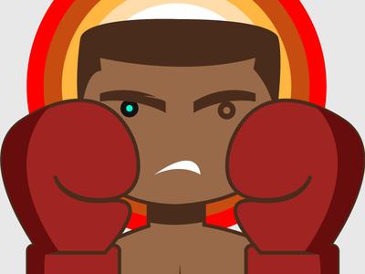 The GREATEST ali tribute the greatest muhammad ali legend activist illustration boxing ali