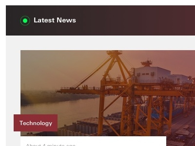 Latest News Feed corporate finance carousel content list feed news