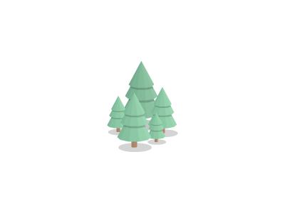 Forestlowpolydribbble