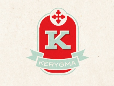Kerygma church logo branding austin texas