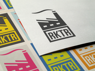 Rktr logo branding reactor power plant