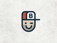 Personal Brand clean simple retro illustration design branding logo