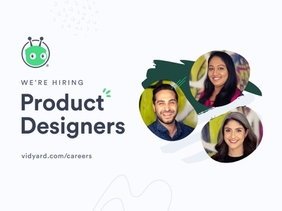 We're Hiring Product Designers! design job design job listing productdesign product design job
