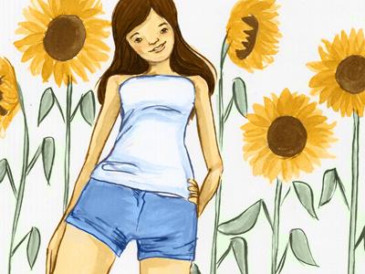 Illustration Friday - Tall illustration illustration friday ink digital drawing