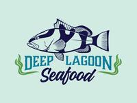 Deep Lagoon Seafood Logo