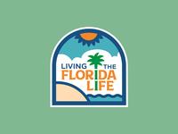 Living the Florida Life Logo