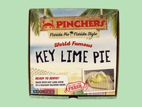 Pinchers Key Lime Pie Box Packaging