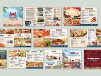 Pinchers Menu Design