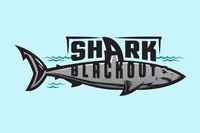 Gulf Coast High School Shark Blackout T-shirt Graphic