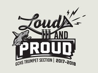 Gulf Coast High School 2017 Trumpet Section Shirt