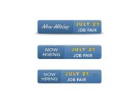Job Fair Button