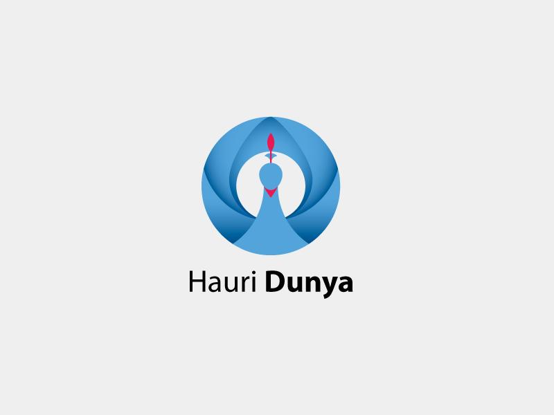 Hauri Dunya Logo Template branding photography camera lens lense bird shutter vector peacock template logo hauri