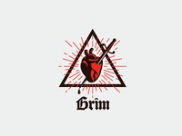 Grim Logo Template