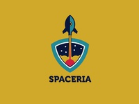 Spaceria Logo Template