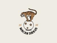 Macan Sirkus Logo Template