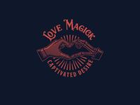 Love Magick Logo Template