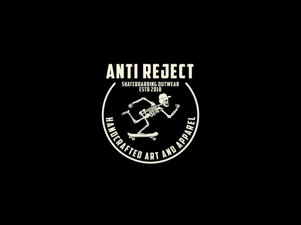 Anti reject club logo template 01