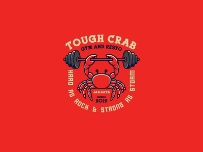 Tough Crab Logo Template
