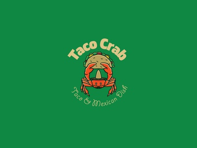 Taco Crab Logo Template