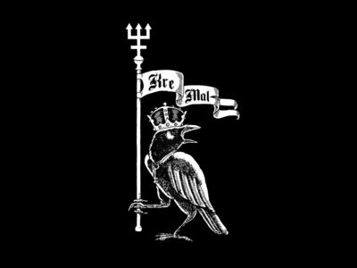 King Ov The Night t shirt design typography illustration logo vintage branding